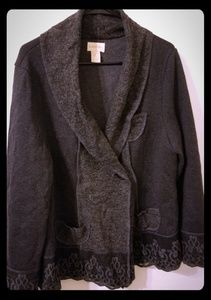 Through the country door wool sweater XL